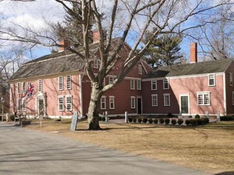 The inn dates to 1716 along the old Boston Post Road.